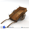 ancient chariot 3D Model