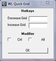 Free WL Quick Grid for Maya 1.0.0 (maya script)