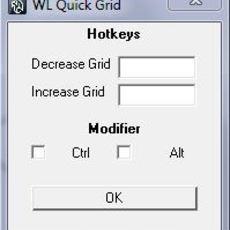 WL Quick Grid for Maya 1.0.0 (maya script)