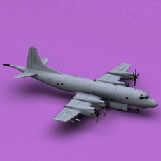 P-3 Royal New Zealand Air Force 3D Model