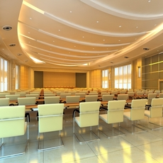Conference Spaces 060 3D Model