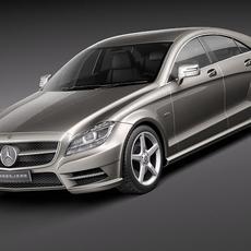 Mercedes CLS 2012 3D Model