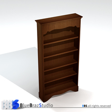 Library 3D Model