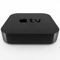 Apple TV 2nd Generation 3D Model