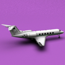 Gulfstream IV Aerospace Saudi Arabia Air Force 3D Model