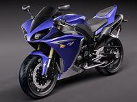 Yamaha YZF - R1 2010 3D Model