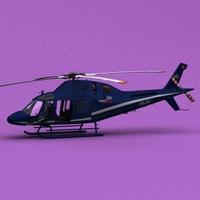 AW-119 Swiss Jet 3D Model