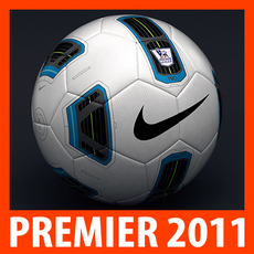 2010 2011 Premier Match Ball 3D Model