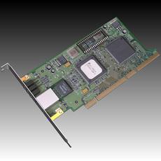 PC Network Card 3D Model