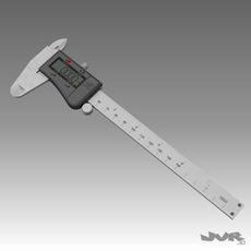 Digital Caliper 3D Model