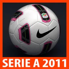 2010 2011 Serie A Match Ball 3D Model