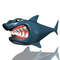 Hungry shark 3D Model