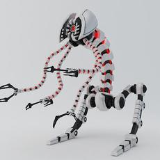 Robot FLR-150 3D Model