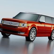 Ford Flex 2009 3D Model