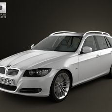 BMW 3 series Touring 3D Model