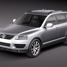 Volkswagen Touareg 2002-2007 3D Model