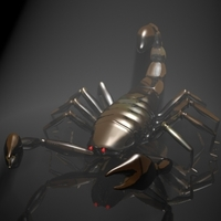 Scorpion 3D 3D Model
