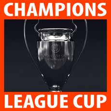 UEFA Champions League Cup Trophy 3D Model