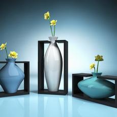Vase in Hold 3D Model