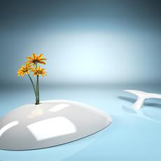 Whale vase 3D Model
