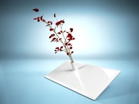 Vase on a support 3D Model