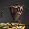 Taz Tasmanian Devil RIGGED 3D Model