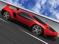Vector W2 Car 3D Model