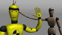 Free Crash Test Dummy Rig for Maya 1.0.1
