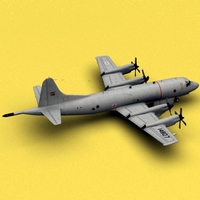 P-3 Orion Portugal 3D Model