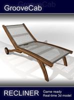 Pool Recliner 3D Model