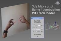 Free Flame/Combustion 2D Track loader for 3dsmax 1.0.0 (3dsmax script)