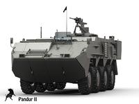 Pandur II 3D Model