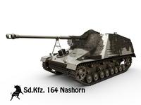 Sd. Kfz. 164 Nashorn 3D Model