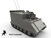 M-577 Command APC 3D Model