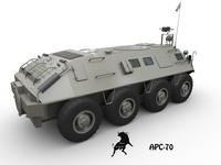 APC-70 3D Model
