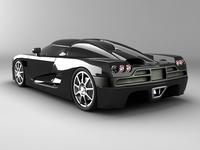 Koenigsegg CCX std mat 3D Model