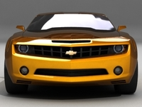 Chevrolet Camaro std mat 3D Model