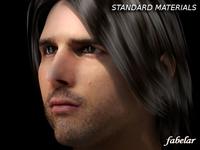 Tom Cruise 2.0 STD MAT 3D Model