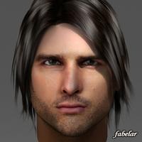Tom Cruise 2.0 3D Model