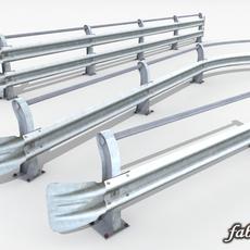 3 Guardrails 3D Model