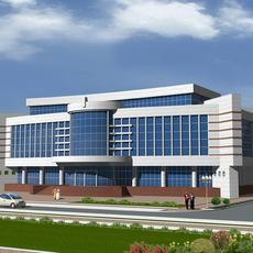 Shopping Centre 3D Model