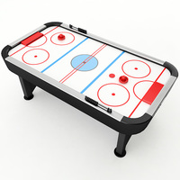 Air Hockey Table 3D Model