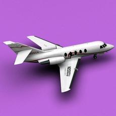 Dassault Falcon 20/200 3D Model