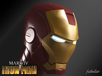 Ironman head 3D Model