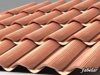 Roofing tiles 2 3D Model