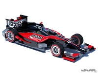 Indycar 2012 Road course concept 3D Model