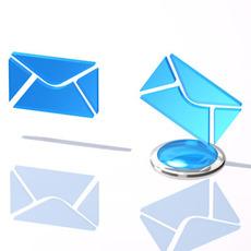 Email logo 3D Model
