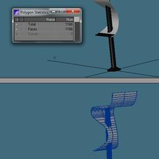 Stylized/modern chair 3D Model