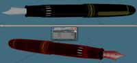 Expensive pen 3D Model