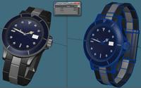 Wristwatch 3D Model